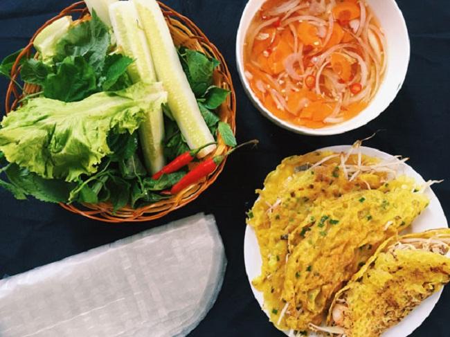 Bánh xèo - Đặc sản Quảng Bình